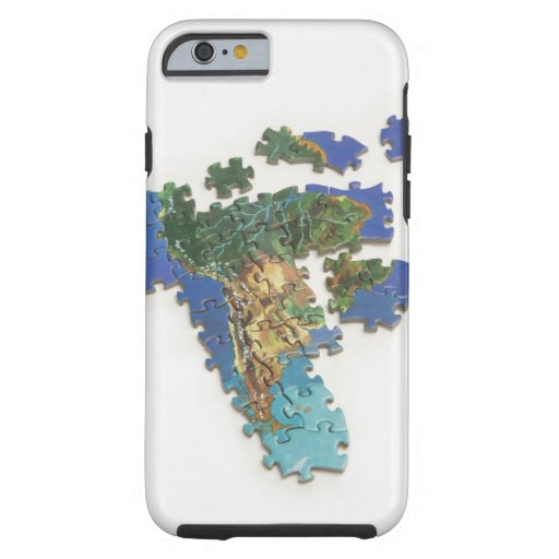 World Map, South America 2 iPhone 6 Case