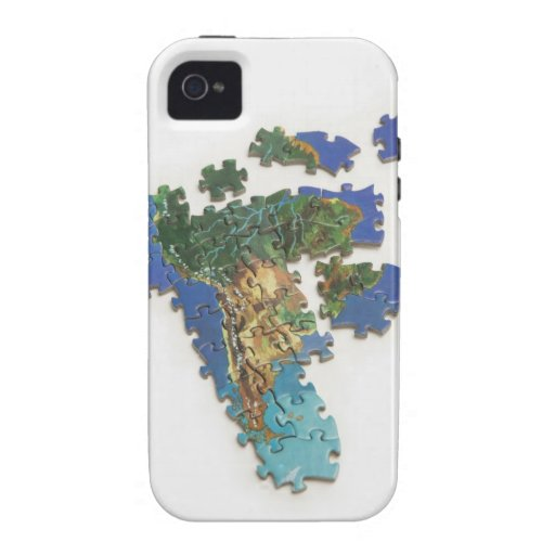 World Map, South America 2 iPhone 4 Covers