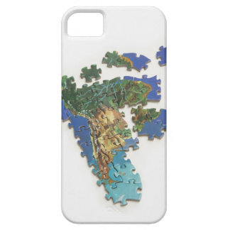 World Map South America 2 iPhone 5 Case