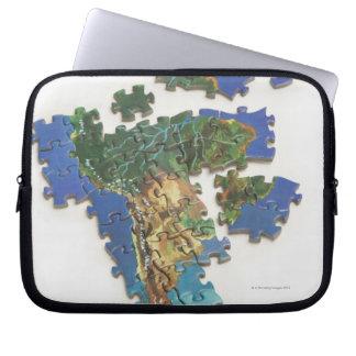 World Map, South America 2 Laptop Sleeve