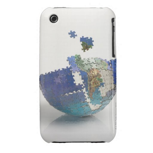World Map, South America iPhone 3 Covers