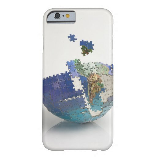 World Map, South America iPhone 6 Case