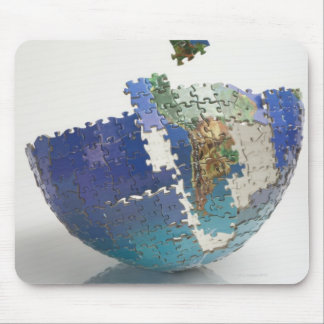 World Map, South America Mouse Mat