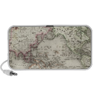 World Map Portable Speakers