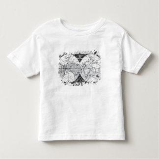 World map tee shirt