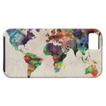 World Map Urban Watercolor iPhone 5/5S Cover