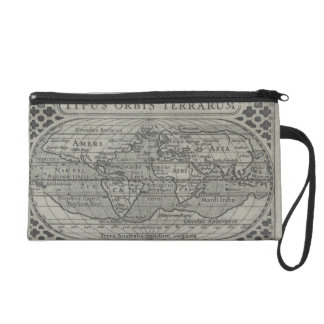World Map Wristlets