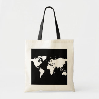 world maps ~ customizable color tote bag