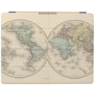 World maps iPad cover