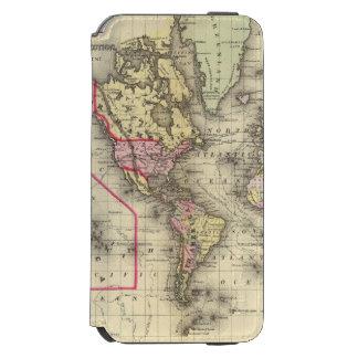 World Mercator proj 2 Incipio Watson™ iPhone 6 Wallet Case