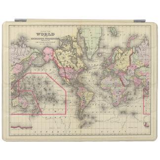 World Mercator proj 2 iPad Cover