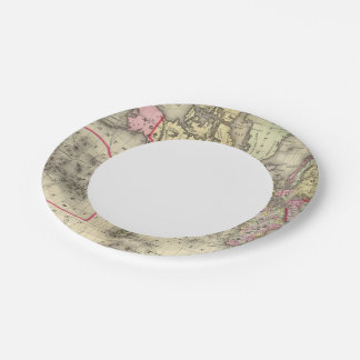 World Mercator proj 2 Paper Plate