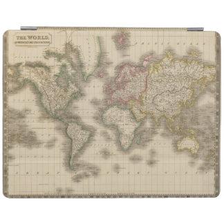 World, Mercator's Projection 2 iPad Cover