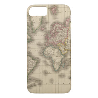 World, Mercator's Projection 2 iPhone 8/7 Case
