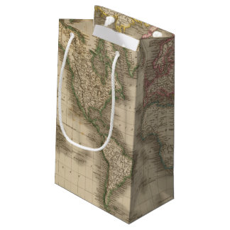 World, Mercator's Projection 2 Small Gift Bag