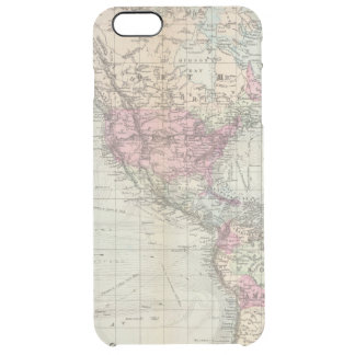 World, Mercator's projection Clear iPhone 6 Plus Case