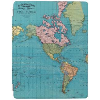 World, Mercator's Projection iPad Cover