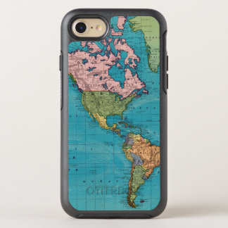 World, Mercator's Projection OtterBox Symmetry iPhone 7 Case