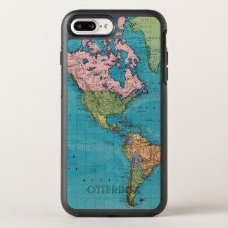 World, Mercator's Projection OtterBox Symmetry iPhone 7 Plus Case
