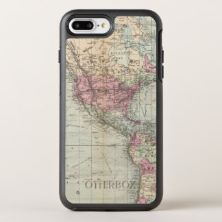 World, Mercator's projection OtterBox Symmetry iPhone 7 Plus Case