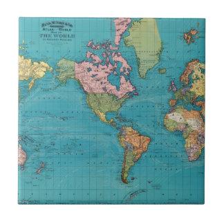 World, Mercator's Projection Tile