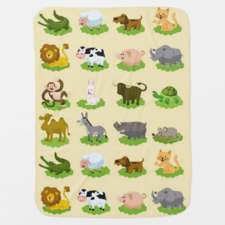World Nature Friends Swaddle Blankets