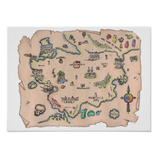 World of Boardgames Poster Print