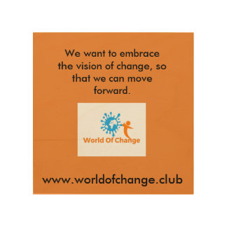 "World of Change ""Vision"" Wall Art"