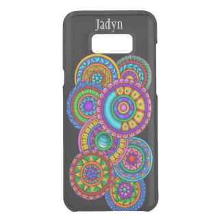World of Color Galaxy 8 Plus Clearly Deflector Cas Uncommon Samsung Galaxy S8 Plus Case