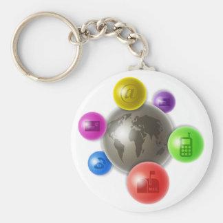 World of Communication Key Ring