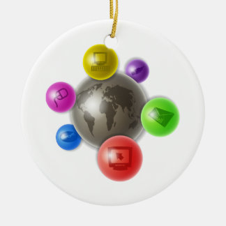 World of Computers Christmas Ornament