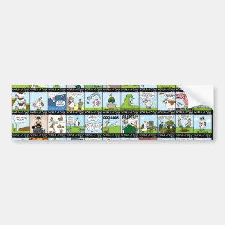 World of Cow Wallpaper Bumper Sticker