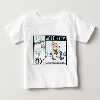World of Cow Winter Variety Baby T-Shirt