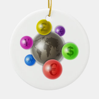 World of Currency Christmas Ornament