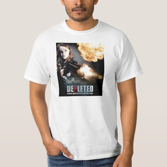 World of Depleted Flaming Bullet Shirt