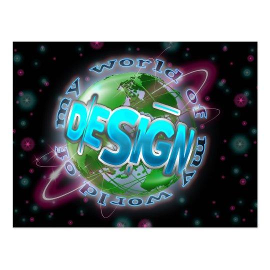 World of design Postcard Customisable