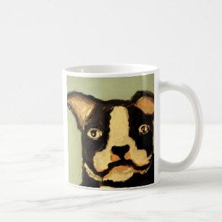 world of eric dog love basic white mug