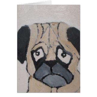 world of eric dog love card