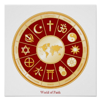 World of Faith Posters