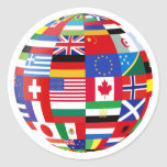 World of flags Sticker