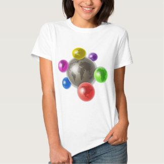 World of Globes T Shirt
