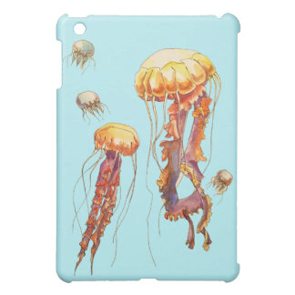 world of jellyfish iPad mini case