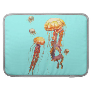 world of jellyfish sleeve for MacBook pro