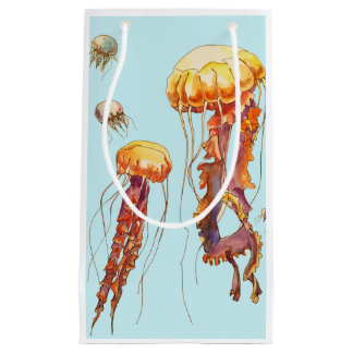 world of jellyfish small gift bag
