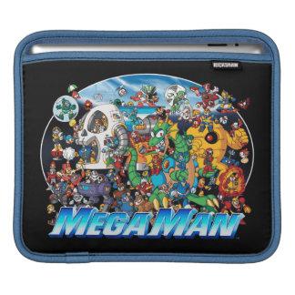 World of Mega Man Sleeves For iPads
