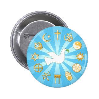 World of Peace 6 Cm Round Badge
