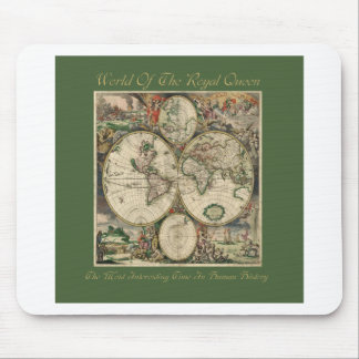 World Of The Royal Queen-Most Interesting Time Mouse Pad