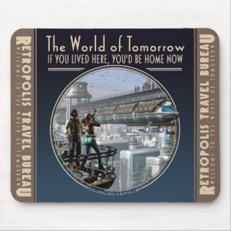 World of Tomorrow Mouse Pad