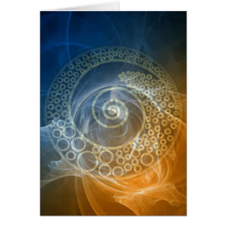 World of Wonder-Rumi and Poetic Art Card