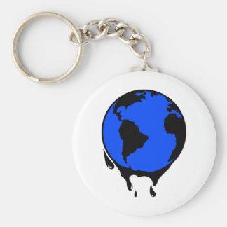 World Oil Biofuel Key Chain